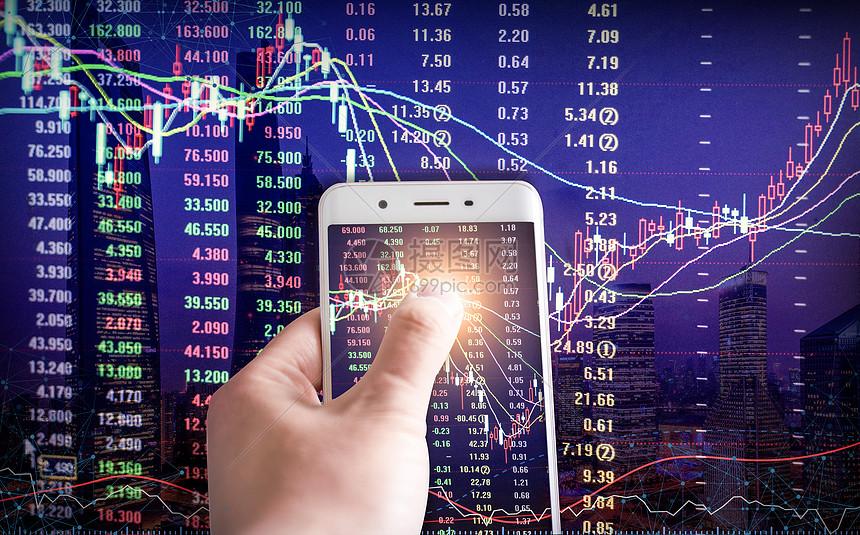 手机炒股股票交易图片素材-正版创意图片401034029-摄图网