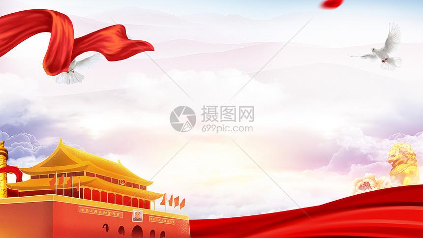 党旗党徽图片_党建背景图片素材-正版创意图片401452393-摄图网