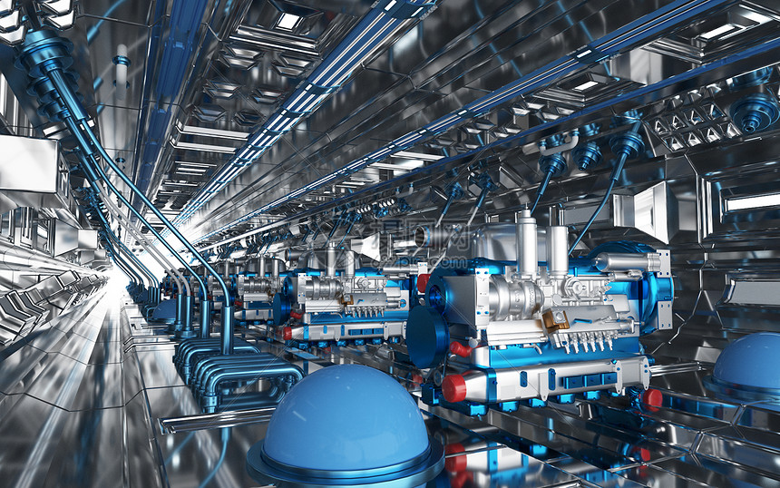 三维立体图_工业机械图片图片素材-正版创意图片401725146-摄图网