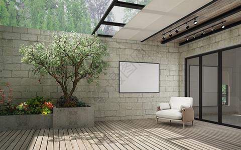 家居壁纸效果图_阳台场景设计图片素材-正版创意图片500983392-摄图网