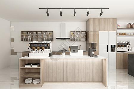 后厨高清下载_后现代风格室内厨房高清图片下载-正版图片501558379-摄图网