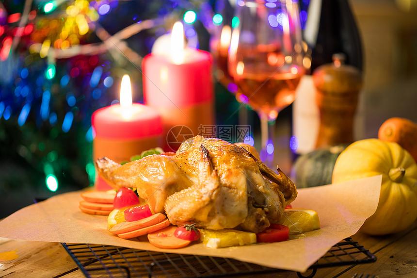 圣诞背景音乐下载_感恩节的火鸡高清图片下载-正版图片501105652-摄图网