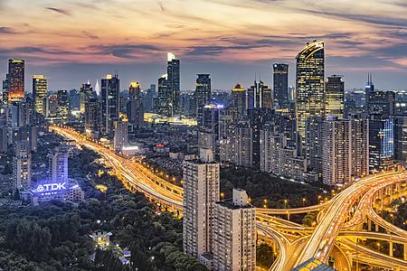 南京南站俯视图_合肥航拍夜景高清图片下载-正版图片501218529-摄图网